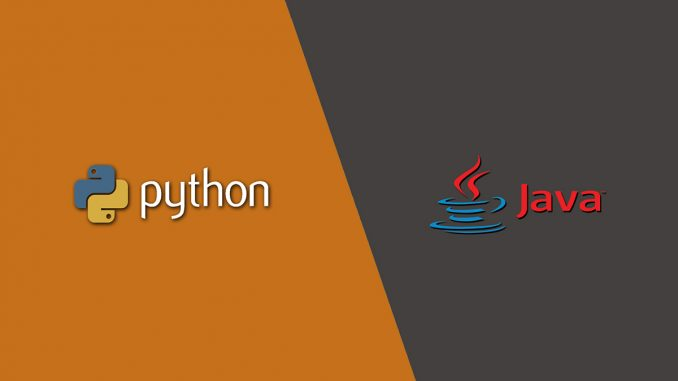 differences between Java and Python