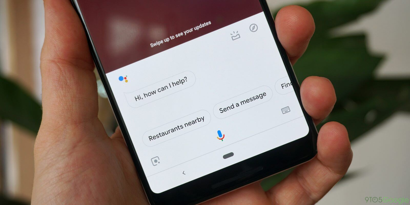 Google assistant lock screen access