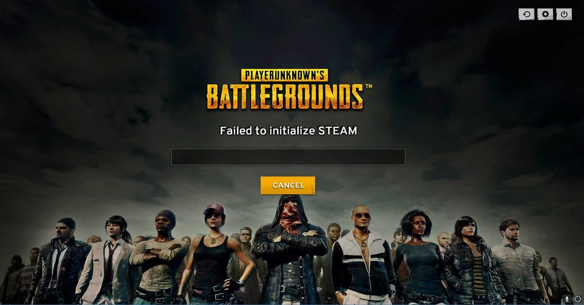 3 Simple Solutions for PUBG failed to Initialize Steam Error