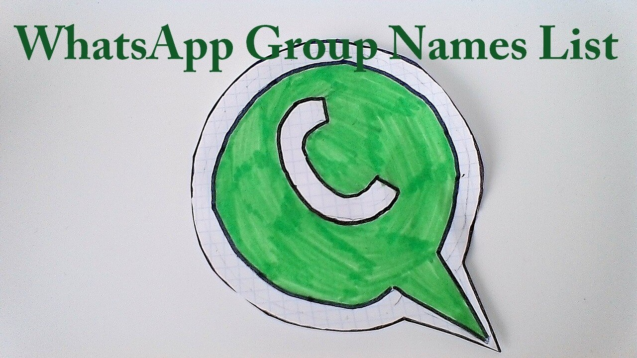 Whatsapp group names for school friends
